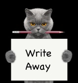 Write Away Cat
